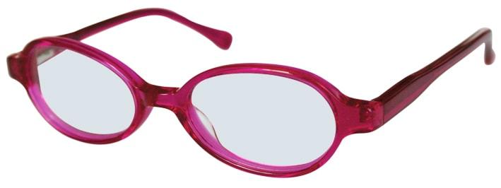 Lunettes de vue rouges adaptées aux enfants, opticien conseil la crau