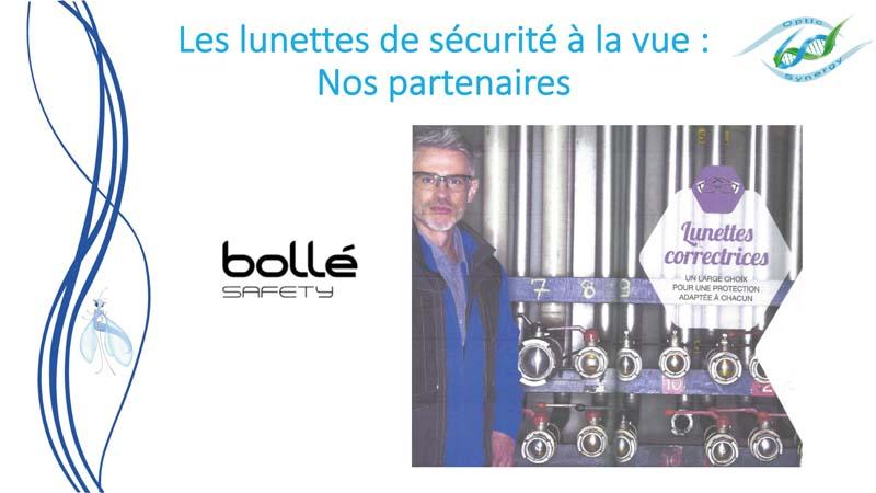 Lunettes de sécurité à la vue - Bollé - Opticien Toulon & La Crau - Optic Synergy