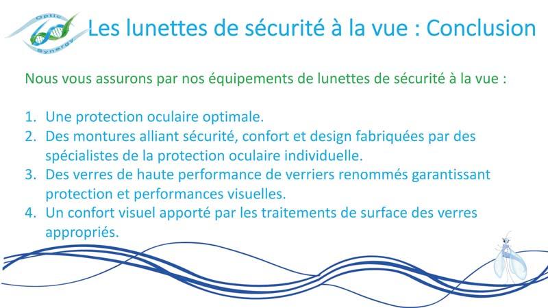 Lunettes de sécurité adaptées à la vue - Opticien La Crau - Optic Synergy