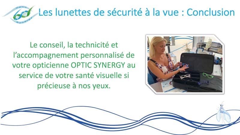 Lunettes de sécurité - Opticien La Crau - Optic Synergy