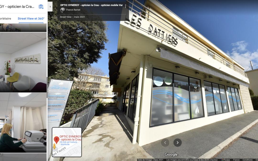 Du nouveau chez OPTIC SYNERGY : la visite virtuelle interactive à 360° !